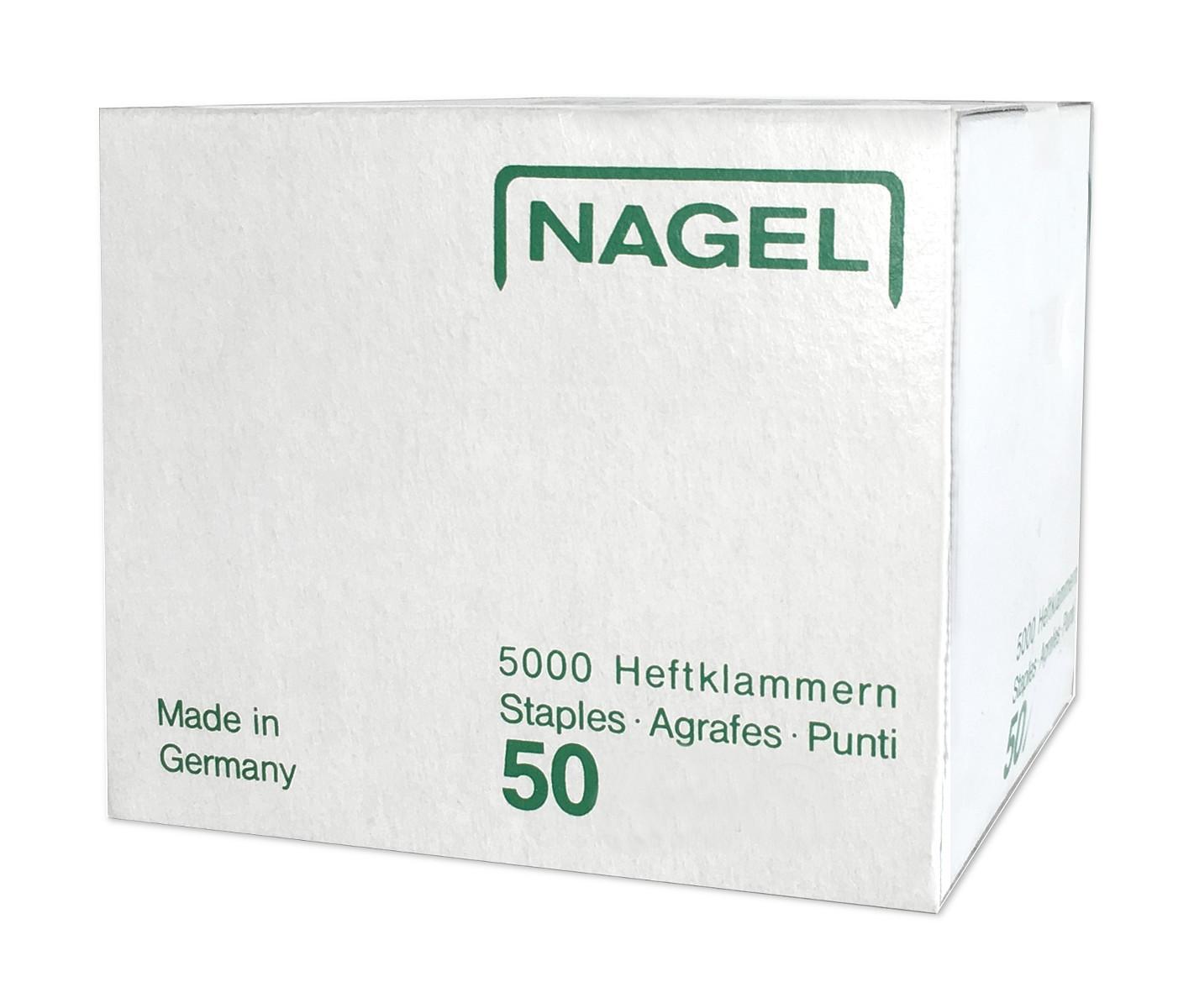 NAGEL Heftklammern 50/10 verzinkt | FritzAdamShop.de - Die ...